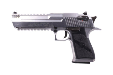 CYBERGUN / ARMORER WORKS DESERT EAGLE L6 .50AE GBB PISTOL (CHROME)