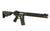 APS ASR118 3-GUN COMPETITION FULL-METAL (BLACK & GOLD) AEG - Airsoft Imports