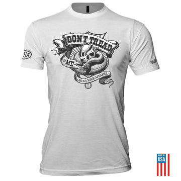 FRAG OUT DON'T TREAD ON ME TEE