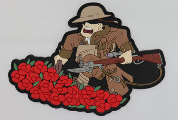 Limited Edition Hiwez WW1 1st Edition PVC Patch - 100% Proceeds to charity