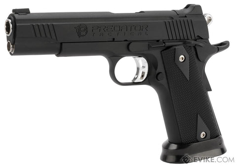 King Arms Predator Tactical Iron Strike GBB Pistol - Airsoft Imports