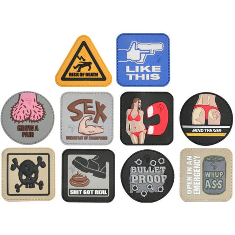 Viper Tactical - 3-D Rubber Morale Patches - Airsoft Imports