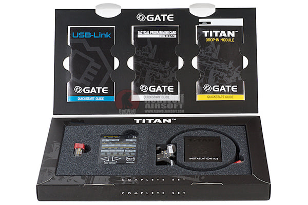 GATE - TITAN (COMPLETE SET- REAR WIRED) - Airsoft Imports