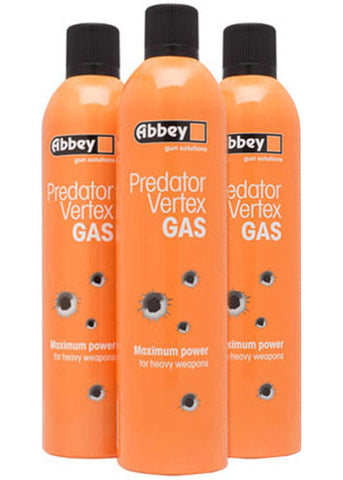 Abbey Predator Vertex Gas 700ml - Airsoft Imports