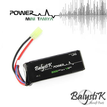 Balystik 7.4V 2000mAh 20C LiPo Battery (MINI TAMIYA)