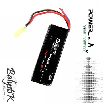 BALYSTIK LI-PO BATTERY 11.1V 1300MAH 30C (MINI-TAMIYA)