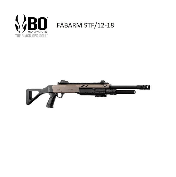 BO Manufacture FABARM Licensed STF12 18 inch - Airsoft Imports