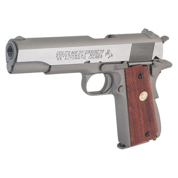 KWC/Cybergun GBB CO2 Colt Government 1911 Mark IV Series '70 (Silver)