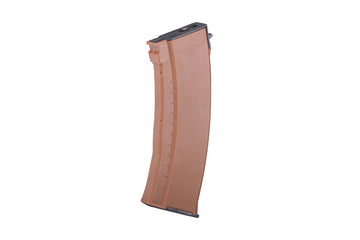 NUPROL 74N MID-CAP 120RDS MAGAZINE (BAKELITE, BROWN COLOUR)