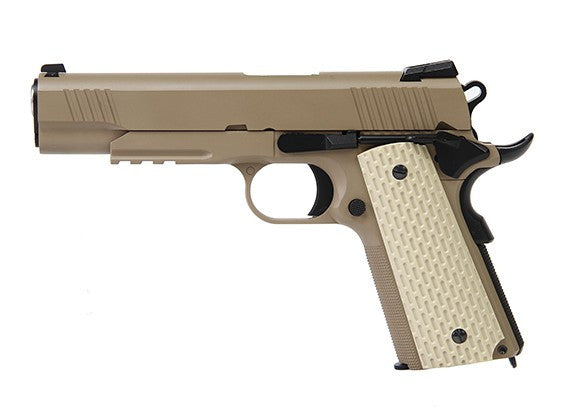 WE 1911 Kimber Style Tan Pistol - Airsoft Imports