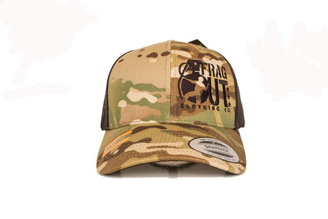 MULTI-CAM FRAG OUT SNAPBACK HAT - Airsoft Imports