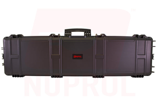 NUPROL XL HARD CASE - BLACK (WAVE FOAM) - Airsoft Imports