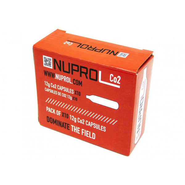 Nuprol Co2 12g Capsules (10pk) - Airsoft Imports