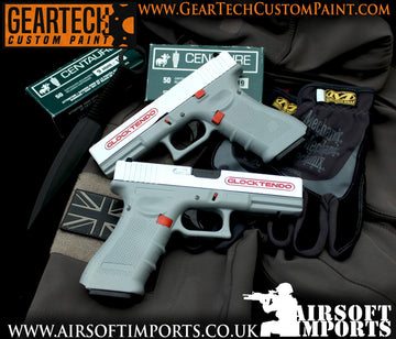 Custom Paint 'Glocktendo' G17 GBB Pistol (Inc. Hard case)