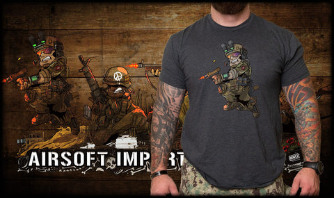 Hiwez Devgru Panoramic Warfare T-shirt - Airsoft Imports
