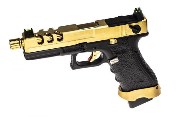 VORSK EU18 VENTED GOLD GBB PISTOL - Airsoft Imports