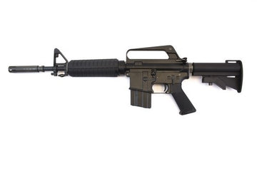 WE XM 177 GBB Rifle - Black
