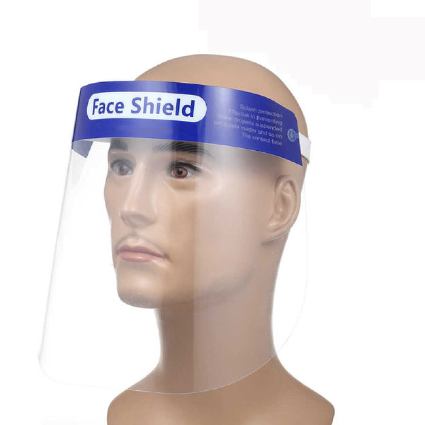 Unisex Protective Safety Shield for Full Face, Anti Fog, Anti Splash Face Shield with adjustable Strap