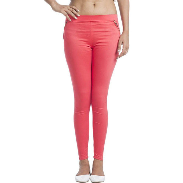TeeMoods Coral Jeggings