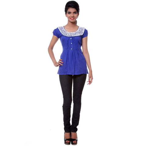 TeeMoods Womens Blue Tunic