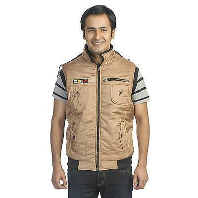 TeeMoods Stylish Quilted Sleeveless Winter Jacket