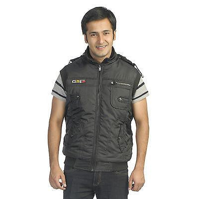 TeeMoods Stylish Winter Quilted Sleeveless Jacket