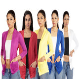 TeeMoods Combo of 5 Shrugs-Violet, Red, Yellow, Royal Blue n White at low price