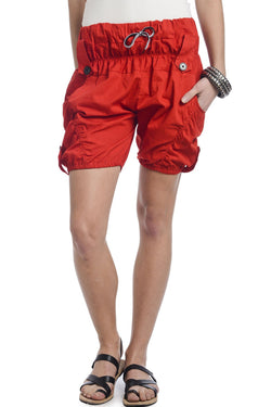 Fiery Red Designer Shorts