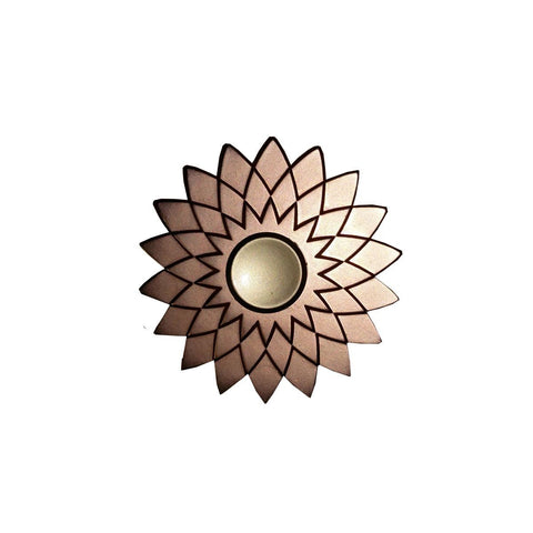 TeeMoods Flower Shaped Metal Hand Spinner