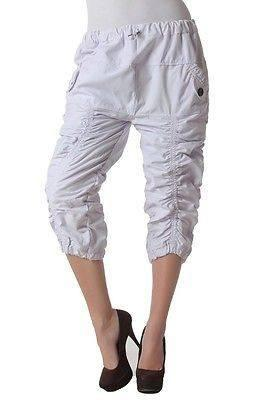 Cool Capris For Summer in 100% Cotton White
