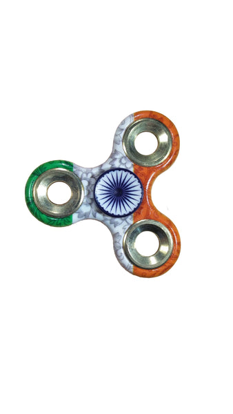 TeeMoods Indian Flag Fidget Hand Spinner