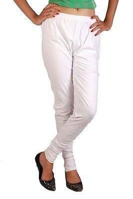 Cotton Legging in spandex for comfortable Summer White