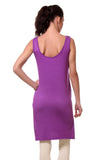 TeeMoods Women's Chemise Full Slips-Purple-Back