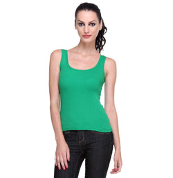 Women's Green Tank Top