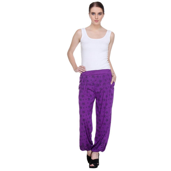 Nightwear Loungewear Purple Pyjama Bottom