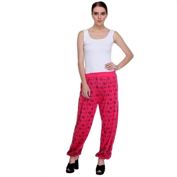 Nightwear Loungewear Dark Pink Pyjama Bottom