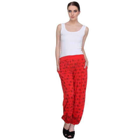 Nightwear Loungewear Red Pyjama Bottom