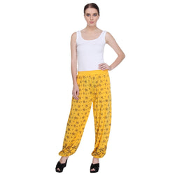 Nightwear Loungewear Yellow Pyjama Bottom