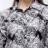 Crepe Shirt Printed