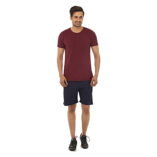 TeeMoods Navy Mens Shorts