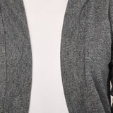 Teemoods Womens Cotton 3/4th Sleeves Grey Shrug, Summer Shrug for Ladies, Closeup