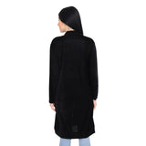 Velvet Full Sleeves Long Shrug