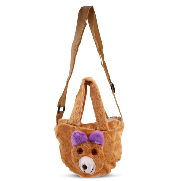 Kids Sling Bag-Teddy Sling Bags for Girls