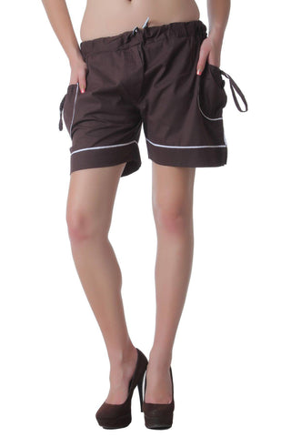 Teemoods Classy Brown Shorts
