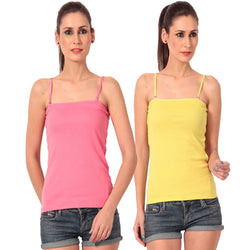 TeeMoods pack of two Camisole Slips