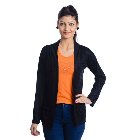 Black Trendy Shrug