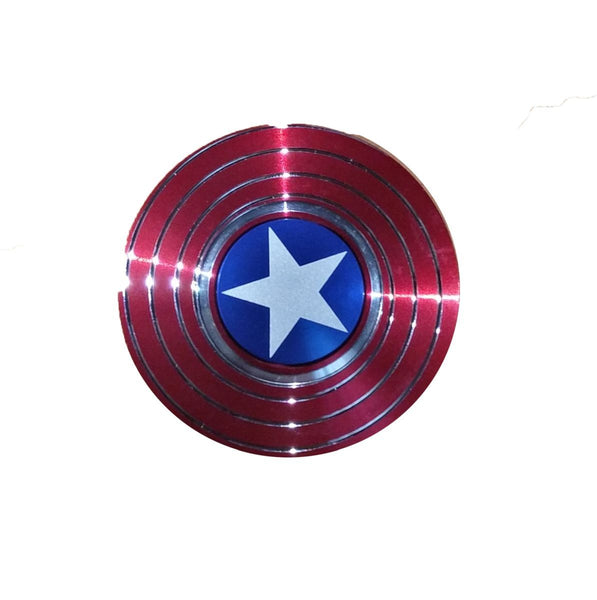 TeeMoods Captain America Shield Metal Hand Spinner