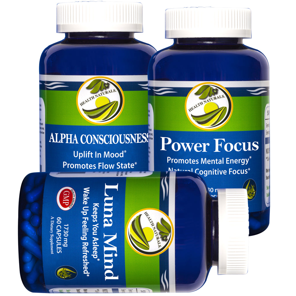 Alpha Consciousness, Luna Mind, Power Focus