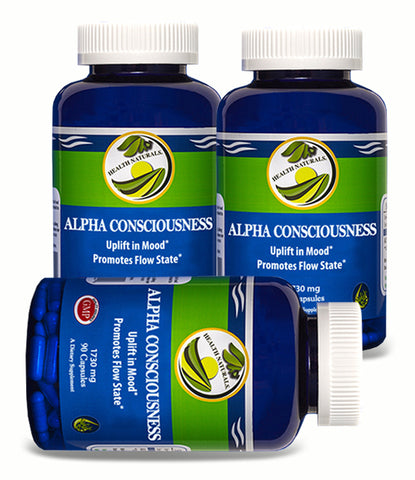Nootropic Brain l Alpha Consciousness 270 ct.