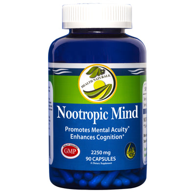 Nootropic Mind 90 Capsules | Natural Mental Acuity
